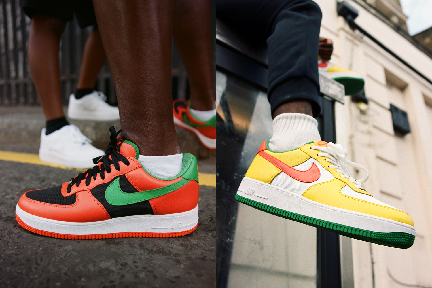 Nike Air Force 1 'Carnival' Pack