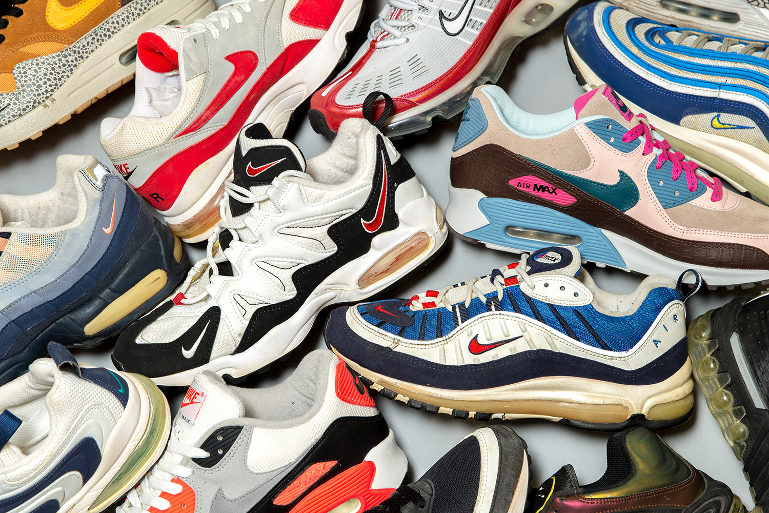 size? HQ Lock-Up: Nike Air Max Archive