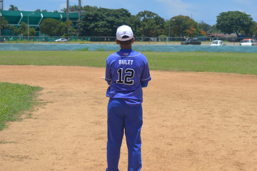 A Brit Watching Baseball In Cuba