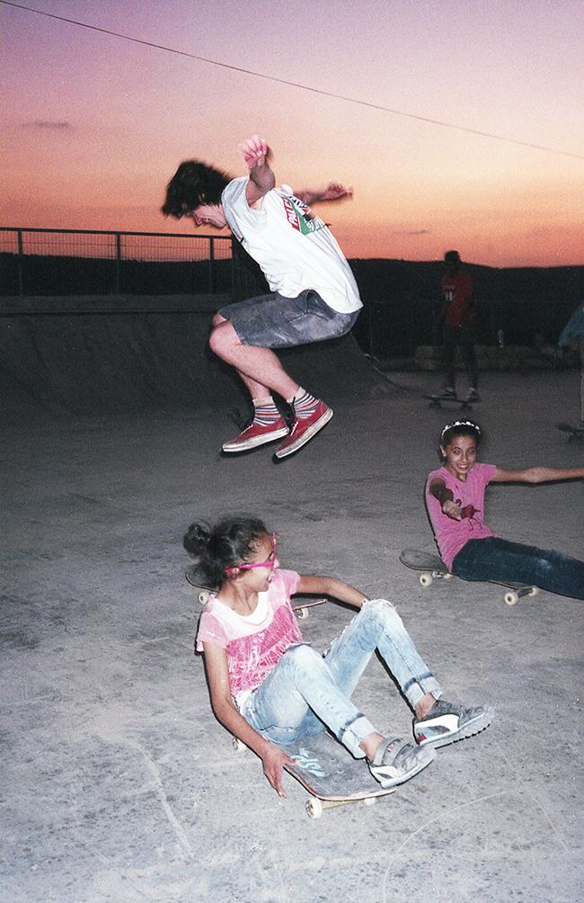 SkatePal in Palestine