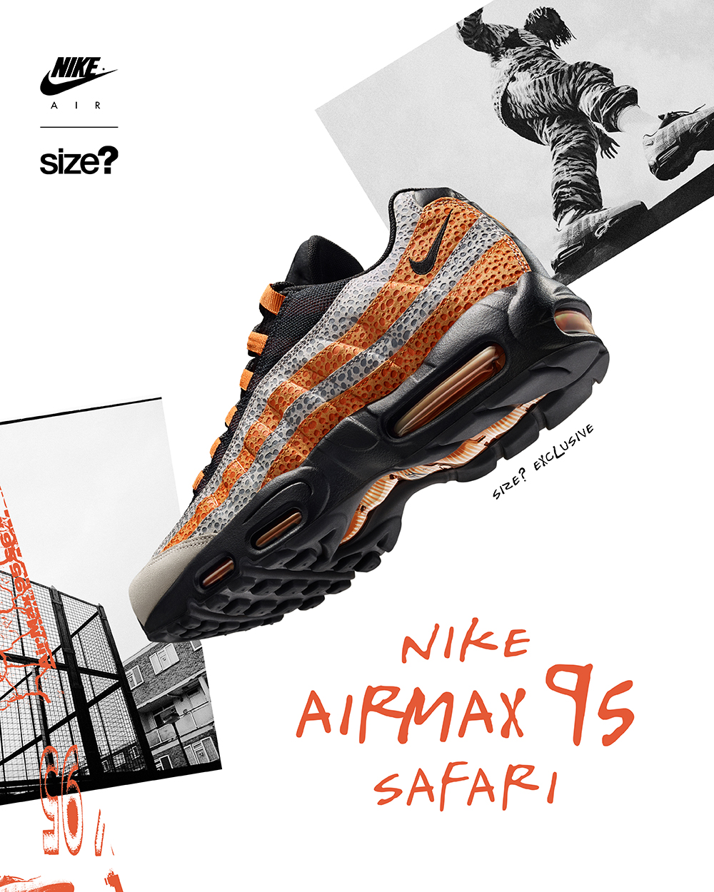 size? Exclusive – Nike Air Max 95 'Safari'