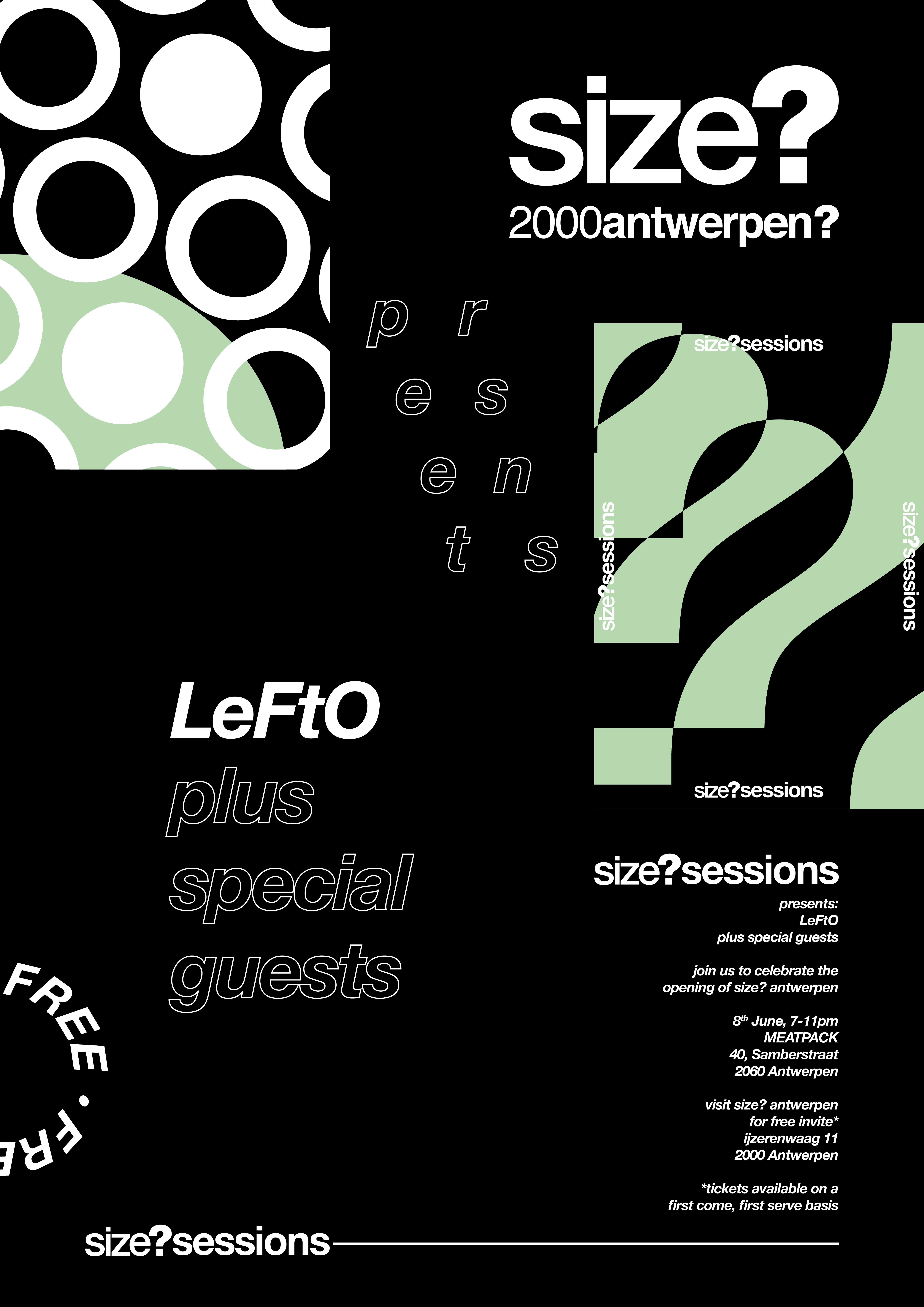 LeftO comes to size? Antwerp