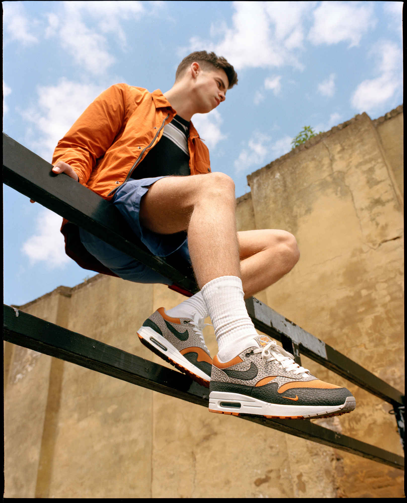 Nike Air Max Safari Editorial by Theo Cottle