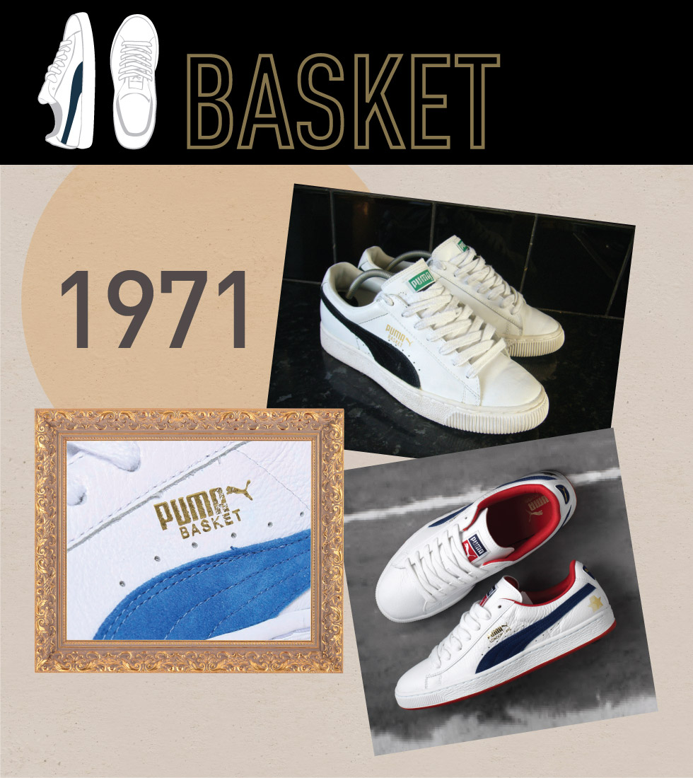df067ba161dece The Basket Classic is built on the original Suede tooling for a clean  classic look. Originally a leather answer to the Suede