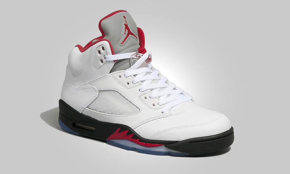 Air Jordan V Retro 'Fire Red' - size? blog