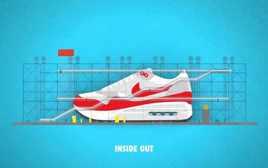 Matt Stevens MAX100, | art | Nike air max, Dessin basket et
