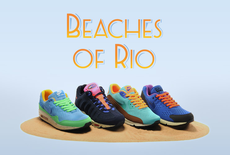 timeless design 67307 adba0 Nike Air Max Engineered Mesh  Beaches of Rio  pack