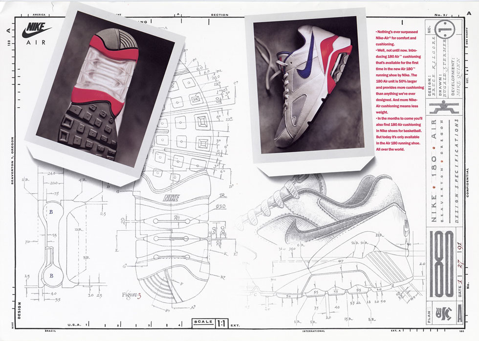size? x Nike Air Max Reinvented: Air Max 180 – the history