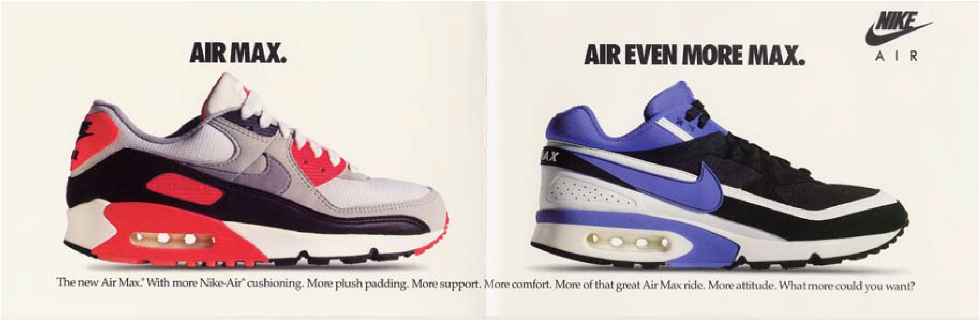 size? x Nike Air Max Reinvented: Air Max 90 – the history