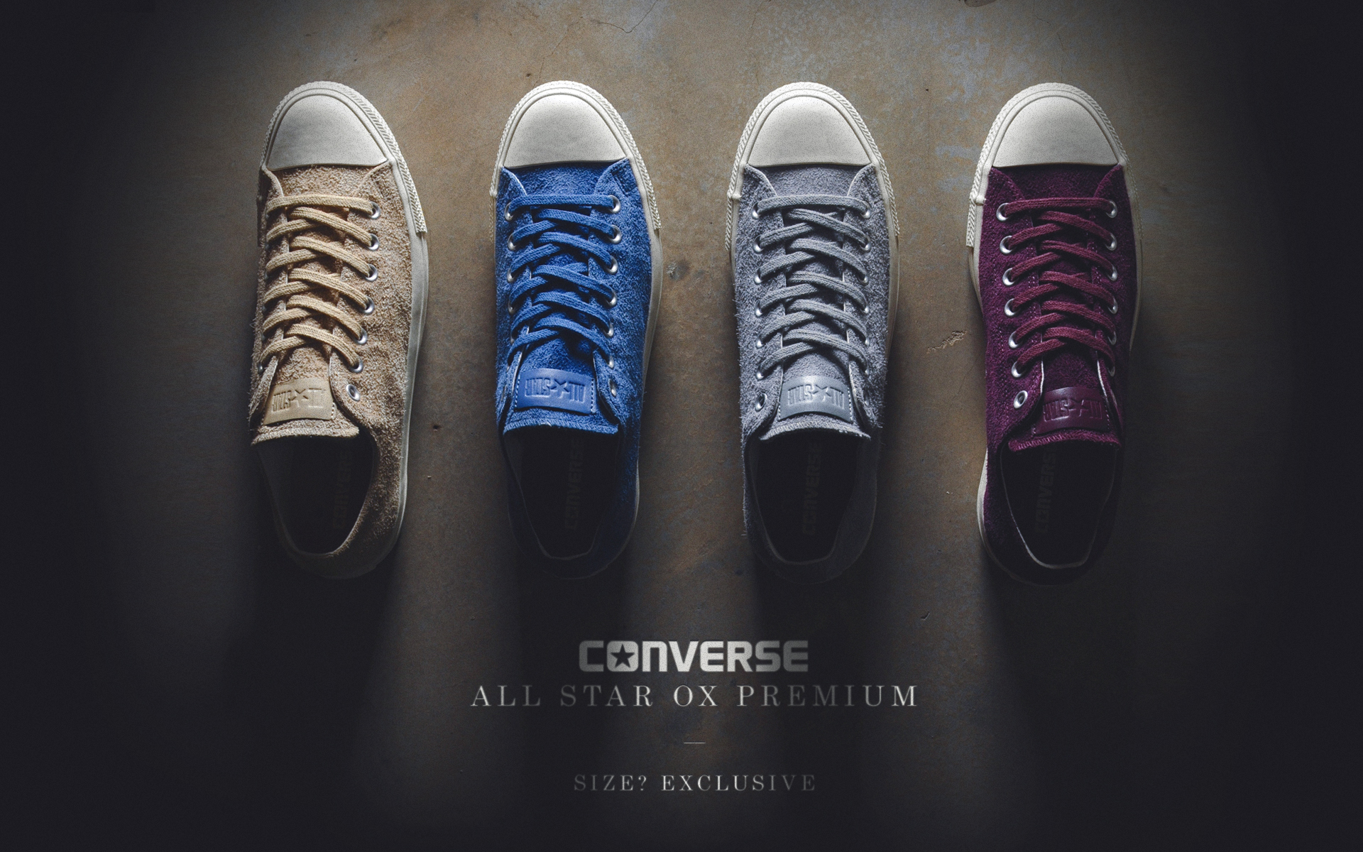 Converse All Star Ox Suede – size? exclusive
