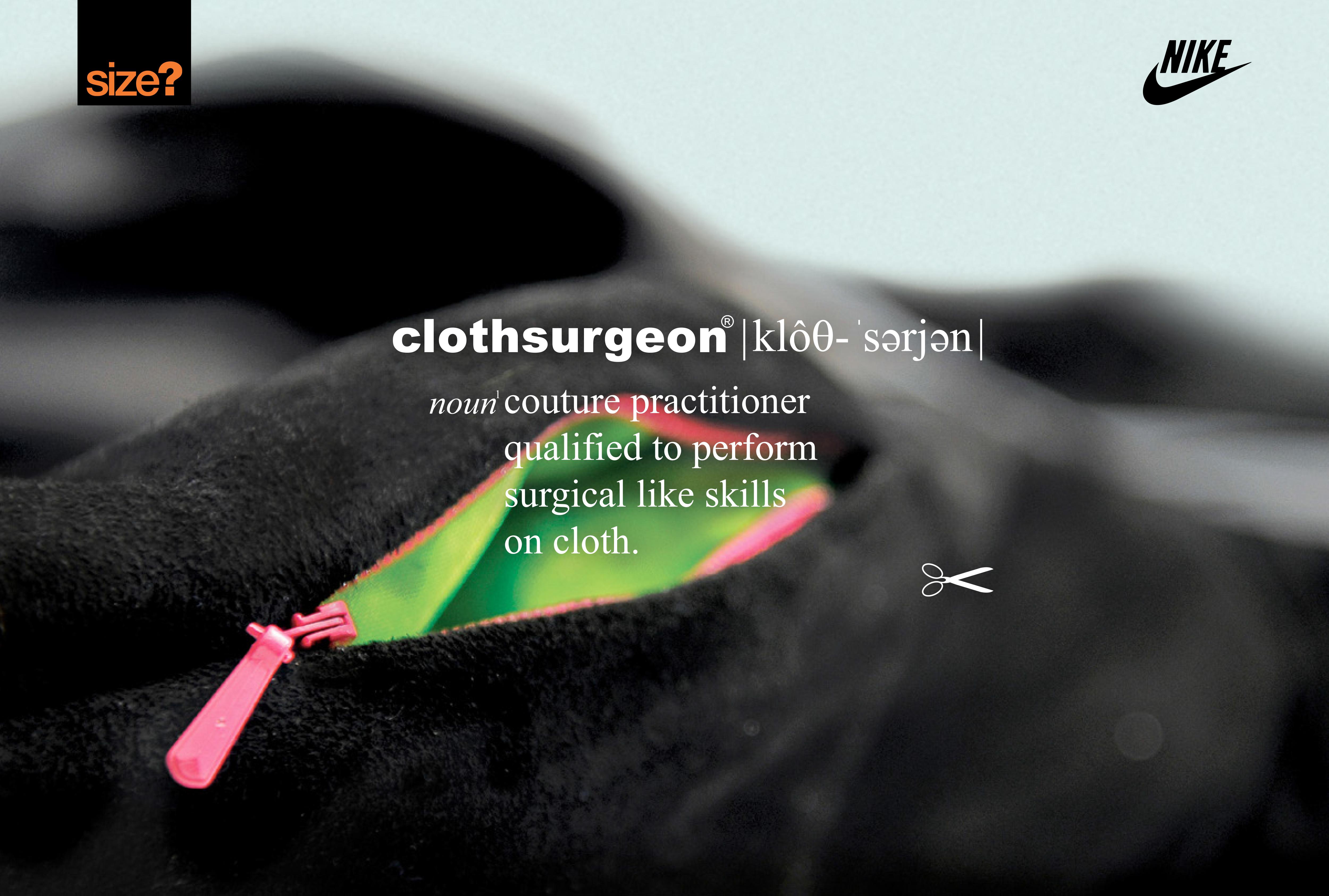 Nike x size? x Clothsurgeon 'Urban Safari' competition