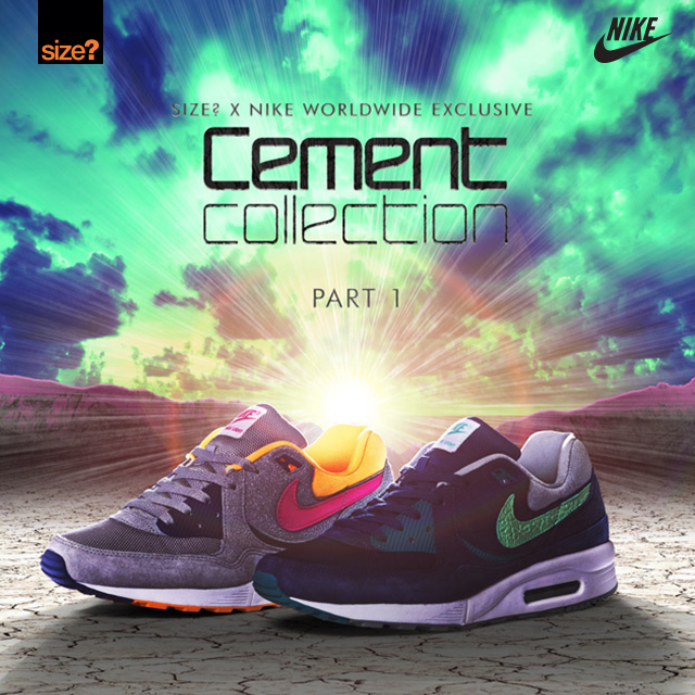 Nike Air Max Light 'Cement Collection' – size? Worldwide exclusive