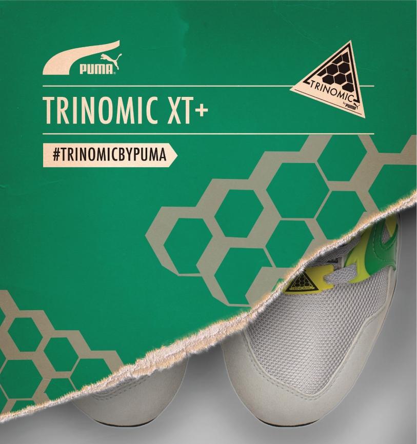 They're coming…. PUMA Trinomic XT+ Series