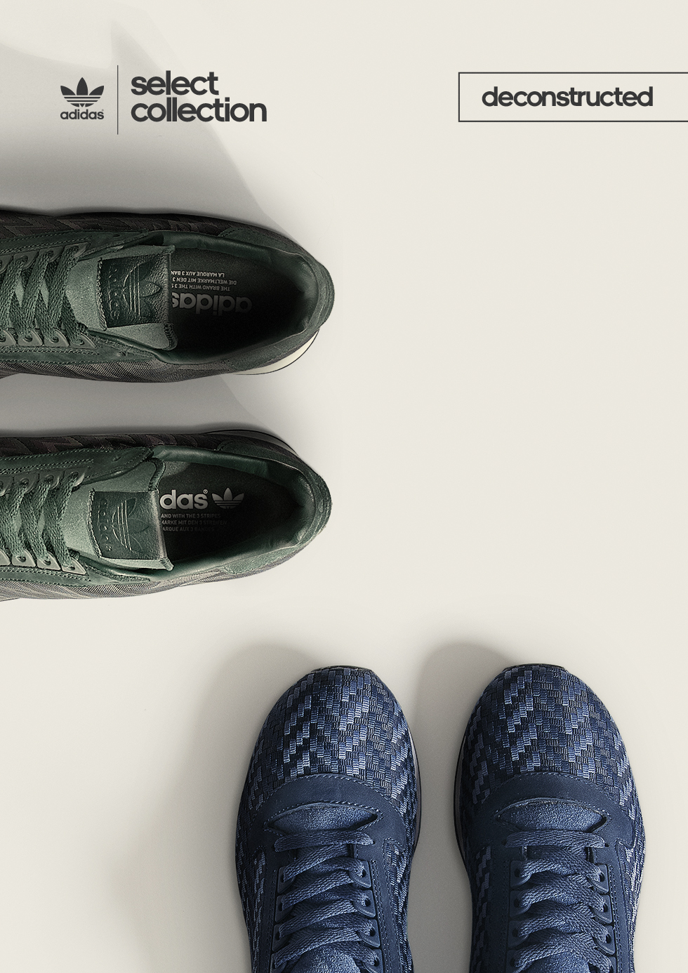 adidas Originals Select Collection: ZX500 'Deconstructed Pack' – size? UK exclusive