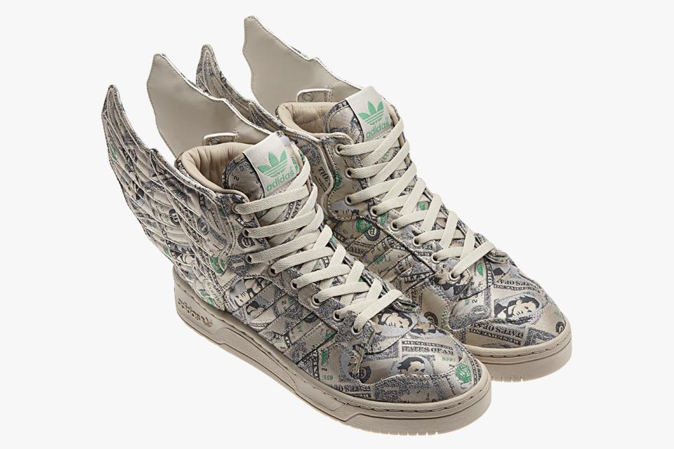 "New Adidas Originals Jeremy Scott Wings 2.0: ""Money"