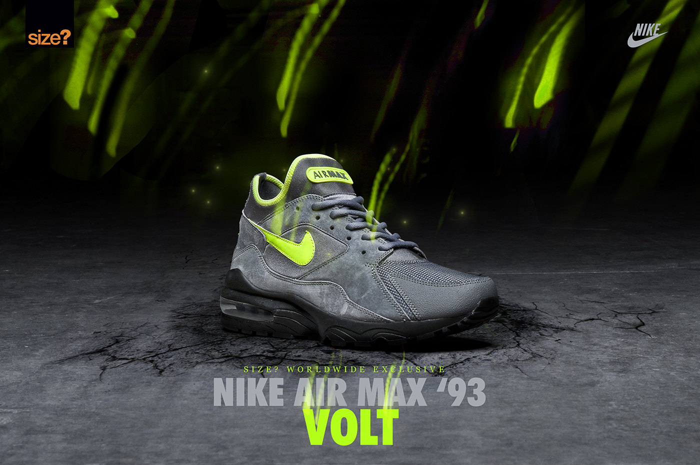 Nike Air Max '93 'Volt' – size? Worldwide Exclusive