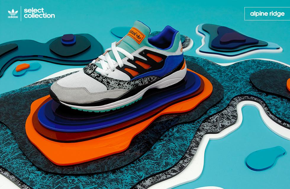 adidas Originals Select Collection 'Alpine Ridge' – size? UK exclusive