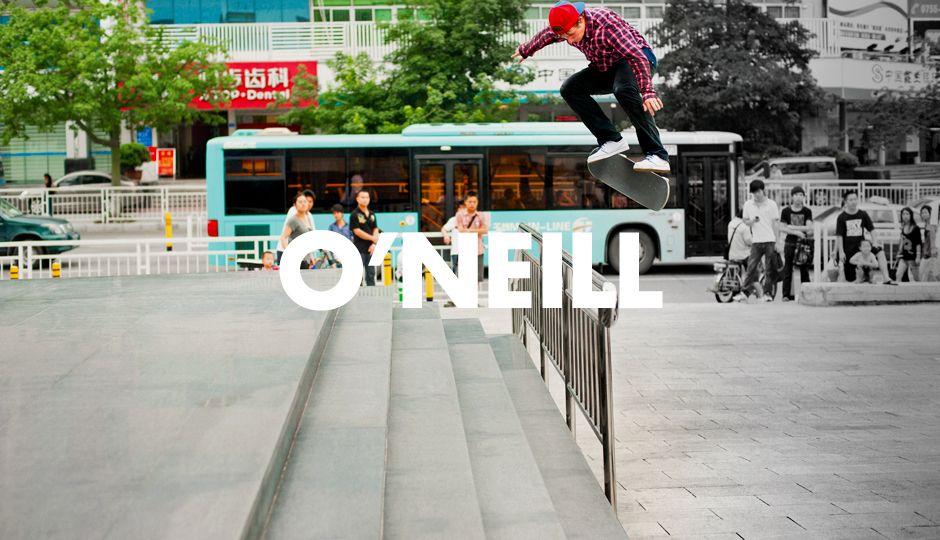 Como un ícono que le da forma al futuro del skateboarding, corresponde que Shane  O'Neill ...