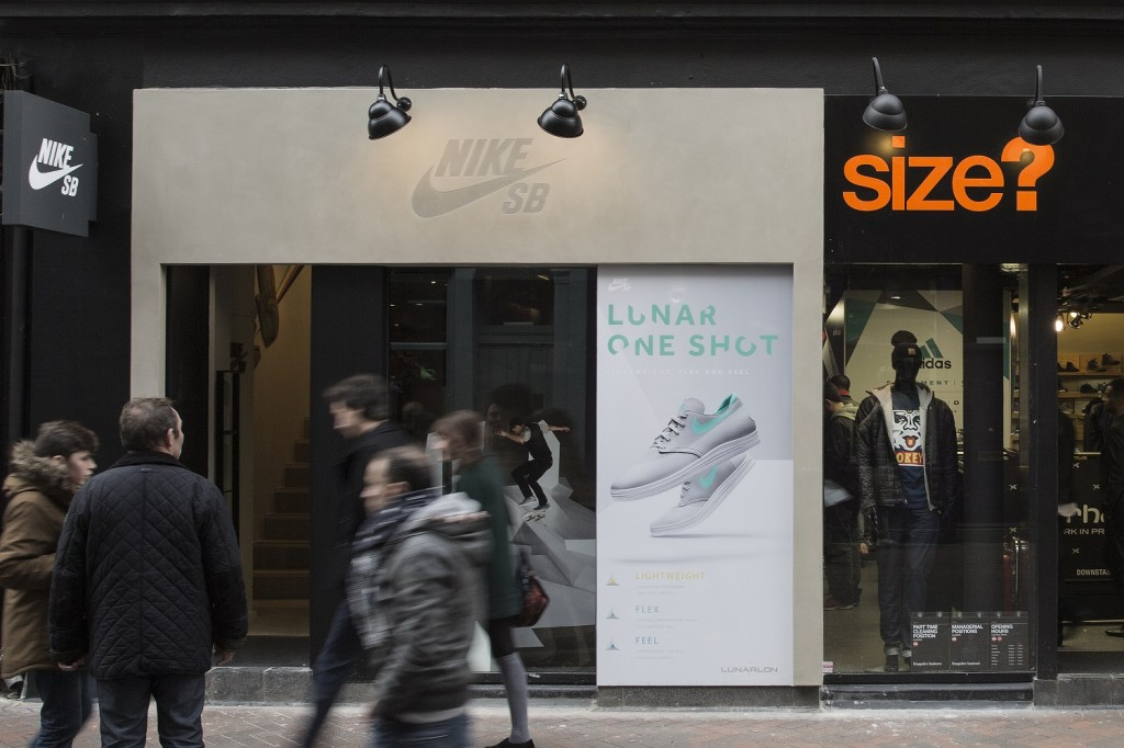 Nike SB London Store size Carnaby Street The Daily Street