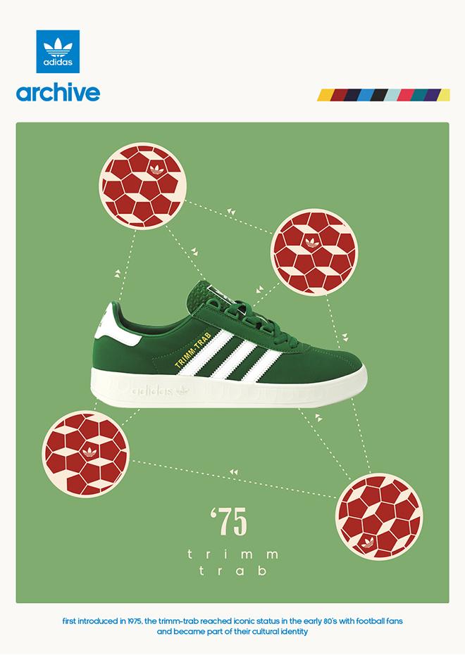 adidas Originals Trimm Trab – size? UK exclusive