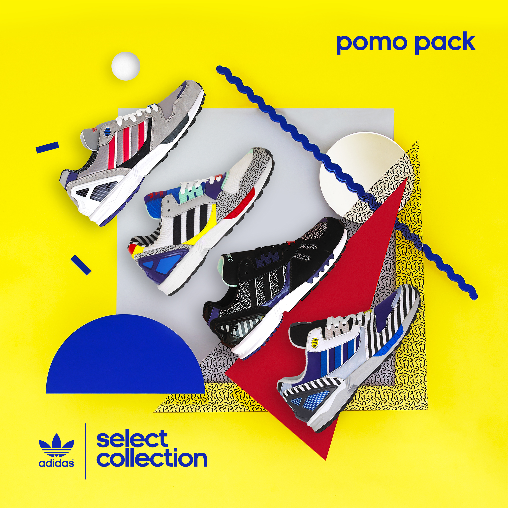 adidas Originals Select Collection pomo pack – size? UK exclusive
