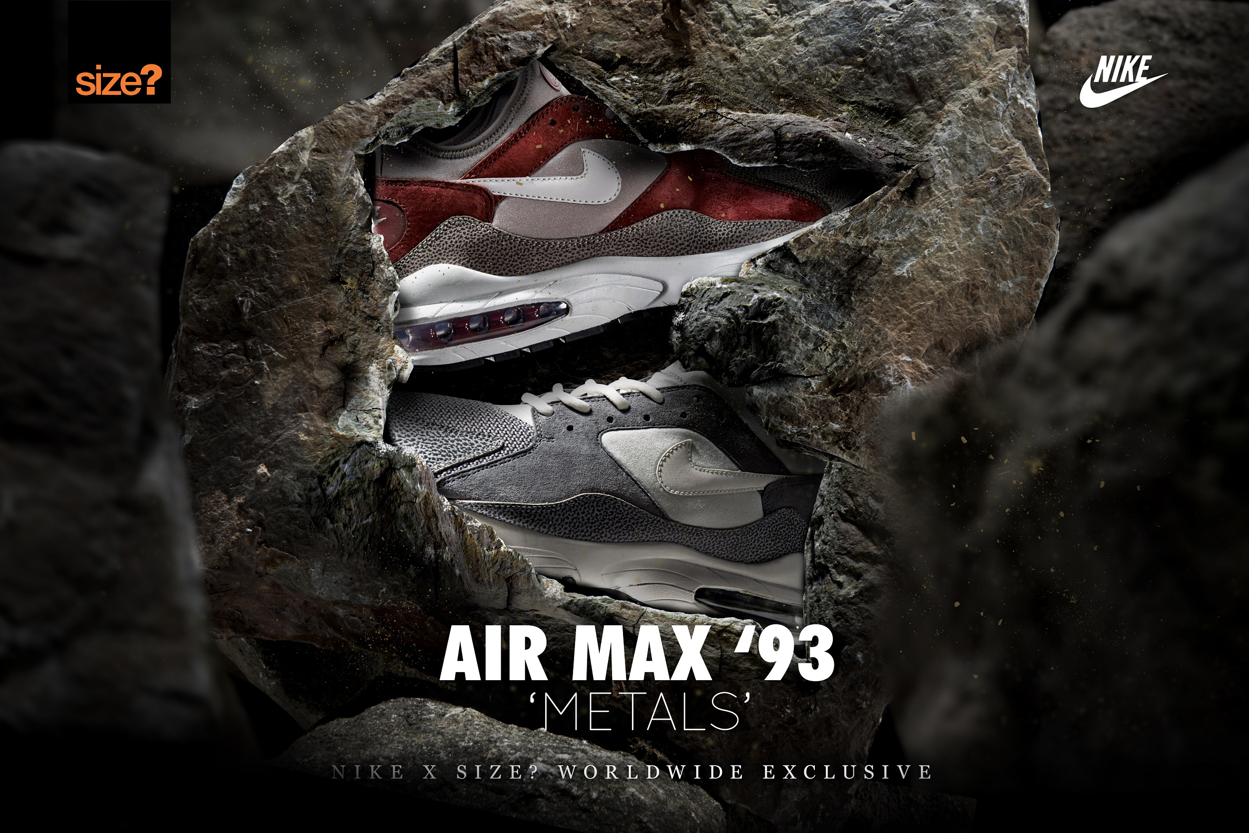 Nike Air Max 93 'Metals' – size? Worldwide exclusive