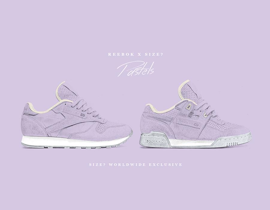 Reebok Pastels 'Purple Oasis' – size? Worldwide Exclusive