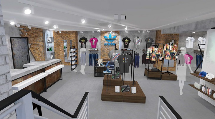 We are proud to announce that the  Neighbourhood  Concept will be  implemented into the new size  Leeds store for its adidas Originals space. 7584ea328d