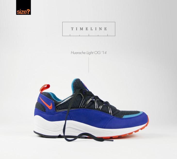 brand new 59795 73800 TIMELINE: Nike Air Huarache Light 'OG' - size? blog