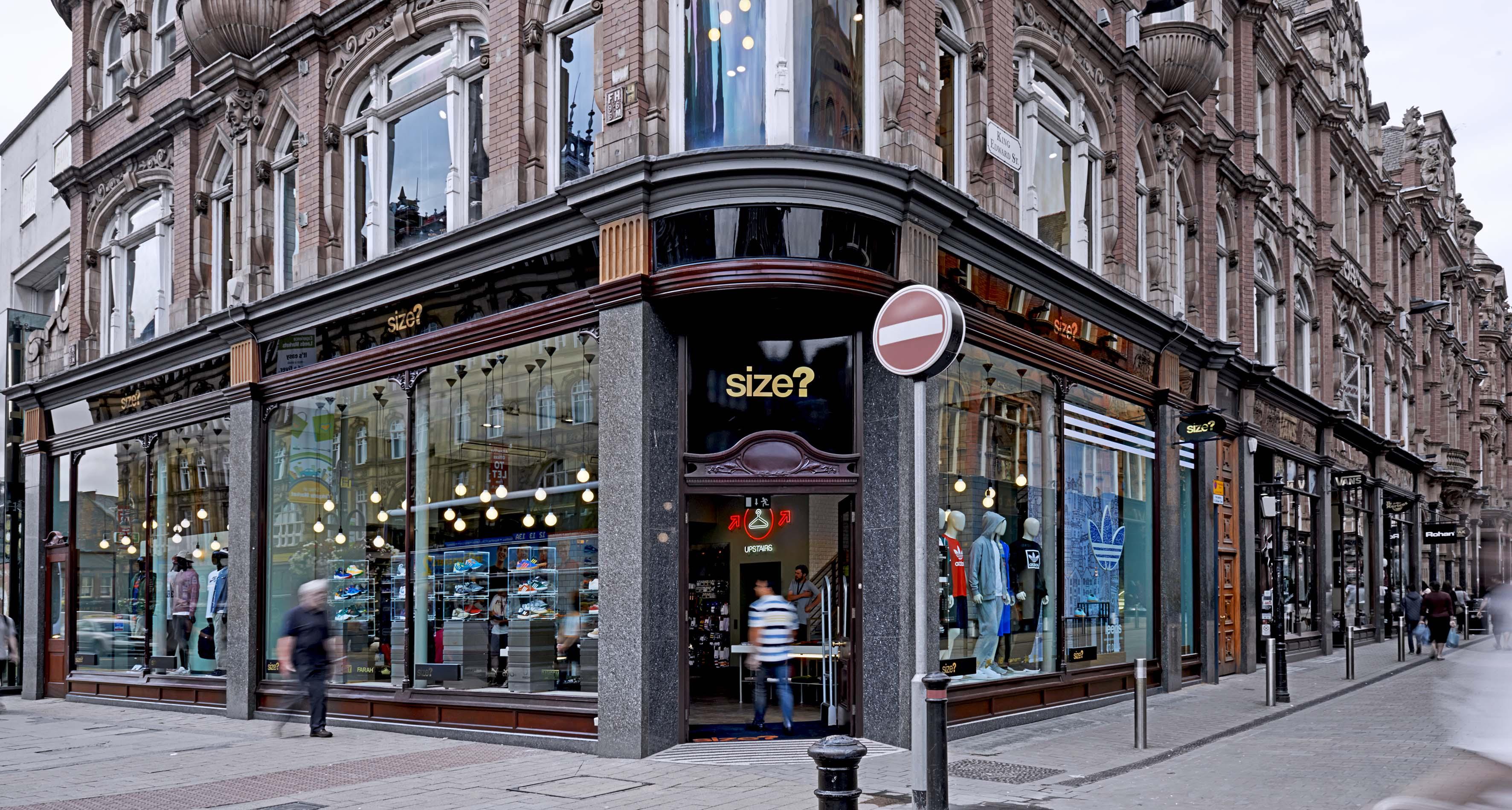 size shop