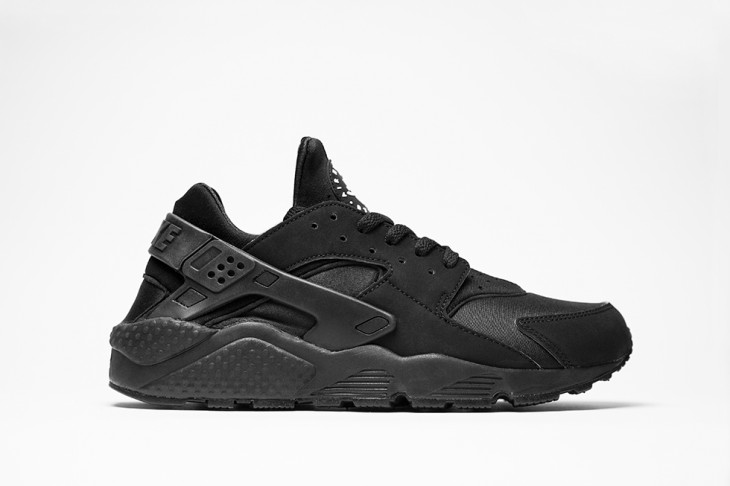 Nike Huarache Triple Black Junior