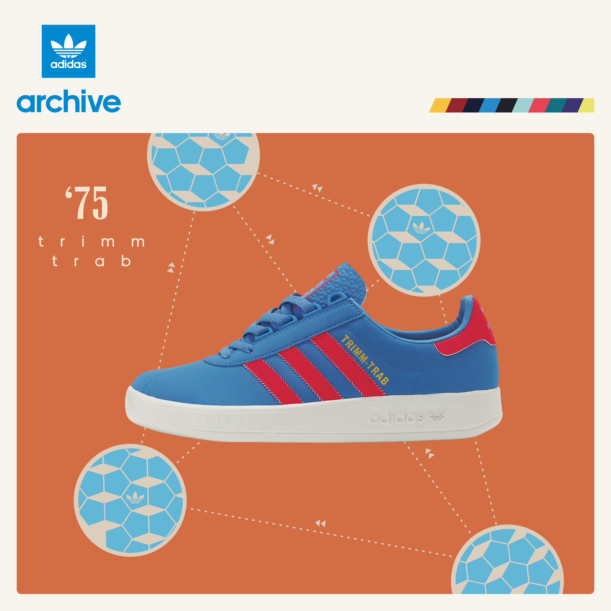 adidas Originals Trimm-Trab and Trimm Star – size? UK Exclusive