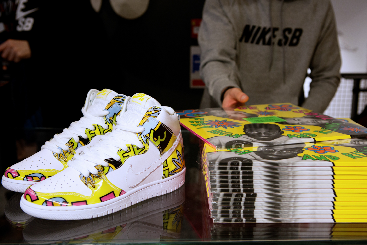 Nike SB Carnaby Street 'De La Soul' Competition Launch and Event Recap