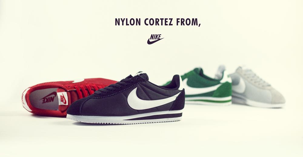 Nike Cortez Nylon Collection