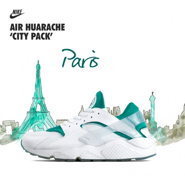 new product 12e8a 7f3cb Nike Air Huarache City Pack - size blog