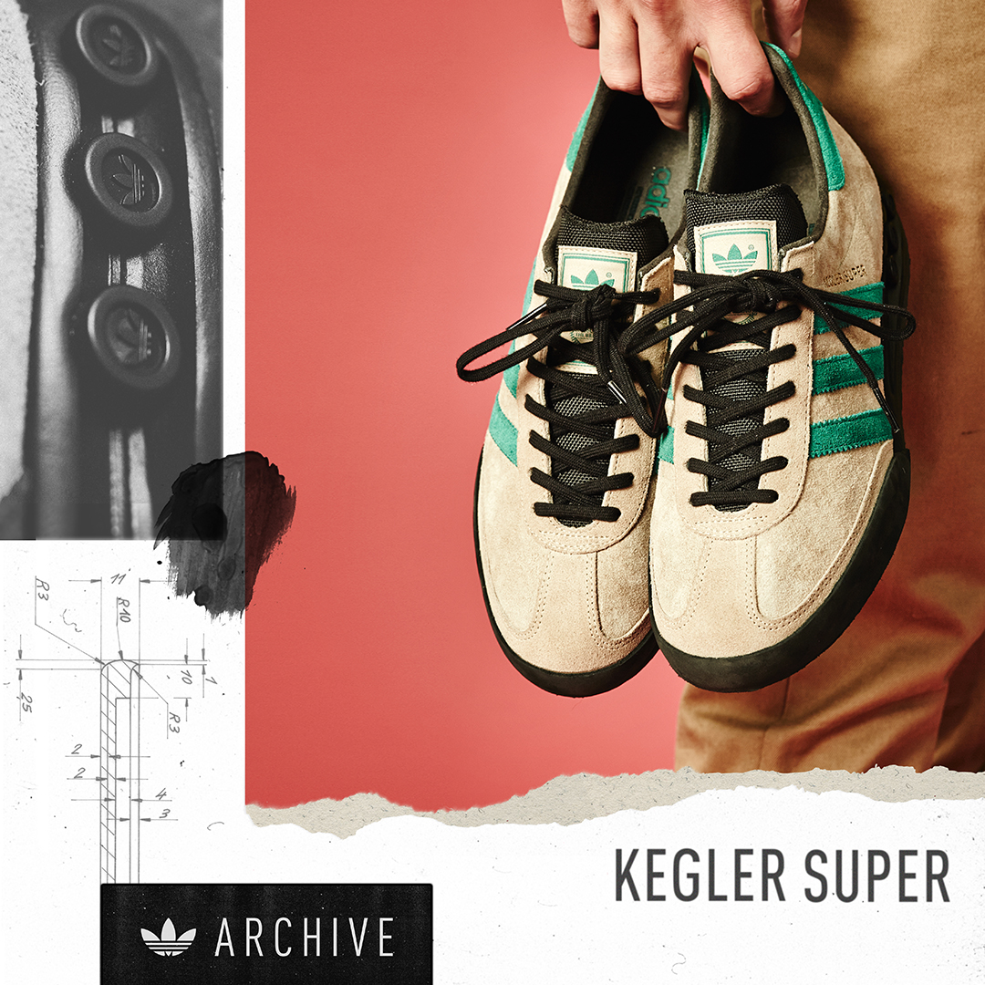 adidas Originals Archive Kegler Super – size? Exclusive