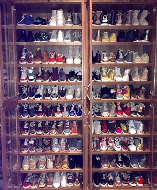 Floyd Mayweather Sneaker Closet 1