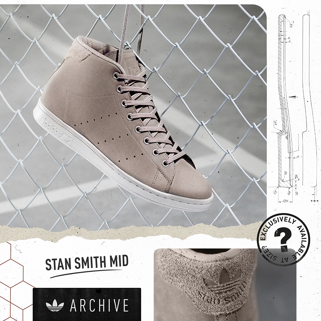 adidas Originals Archive Stan Smith Mid - size  Exclusive - size  blog 9ed16ba4a
