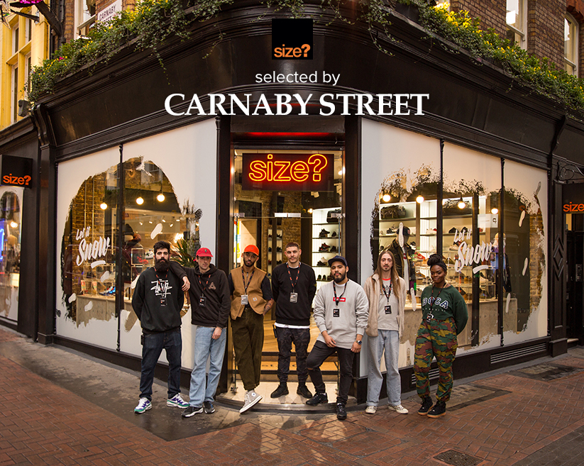 selected by: size? Carnaby Street
