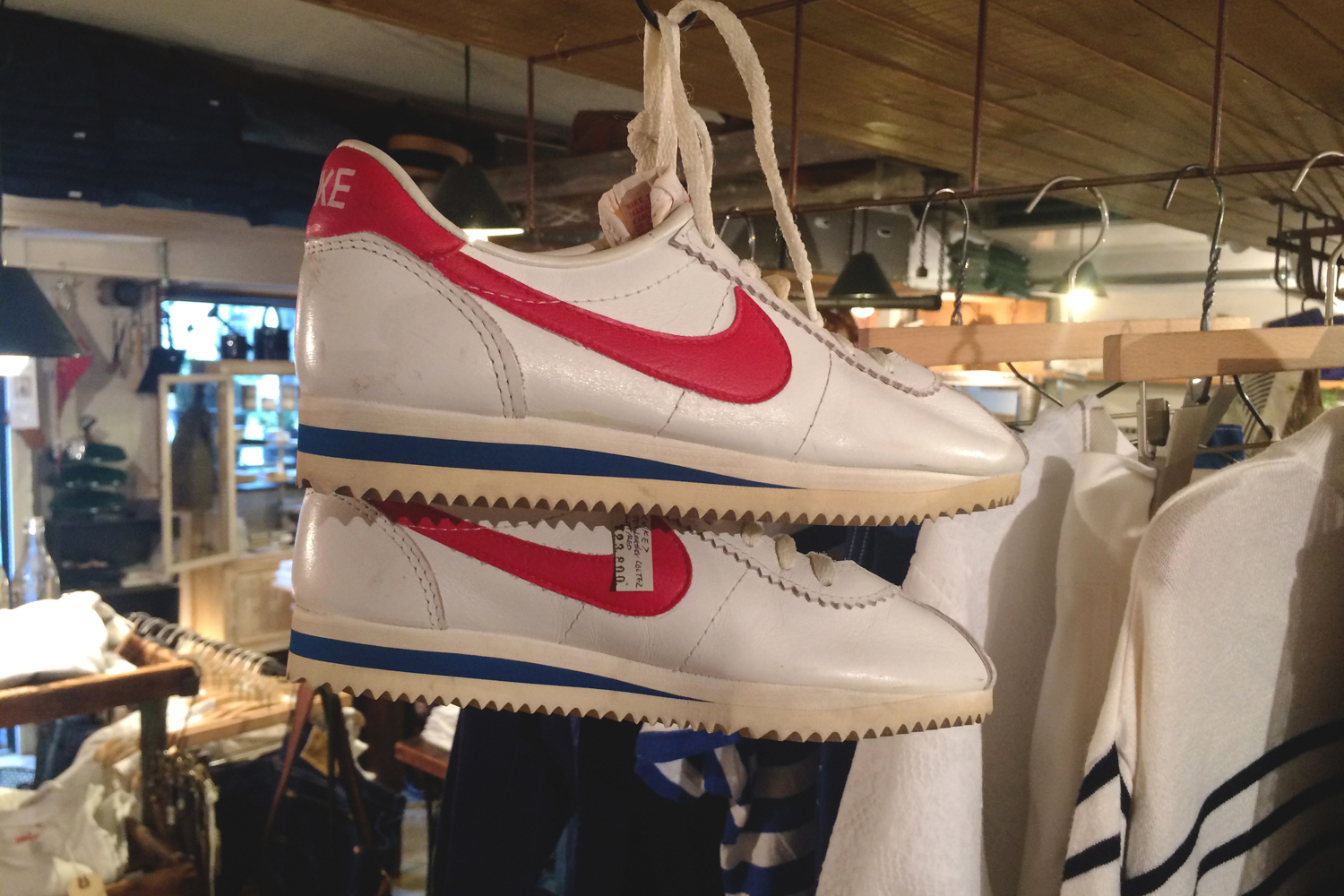 best website 19e11 a8838 ... reduced discoveries ranged from original made in france adidas  superstars nike cortez from their 1972 birth