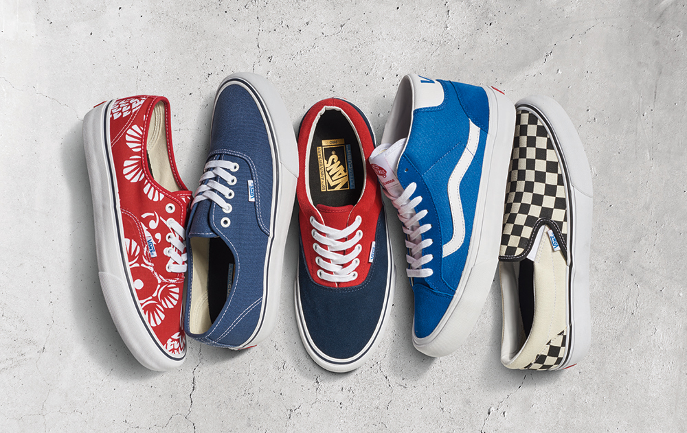 6b378a18c10320 Vans Pro Classics 50th Anniversary illustrated for size  - size  blog