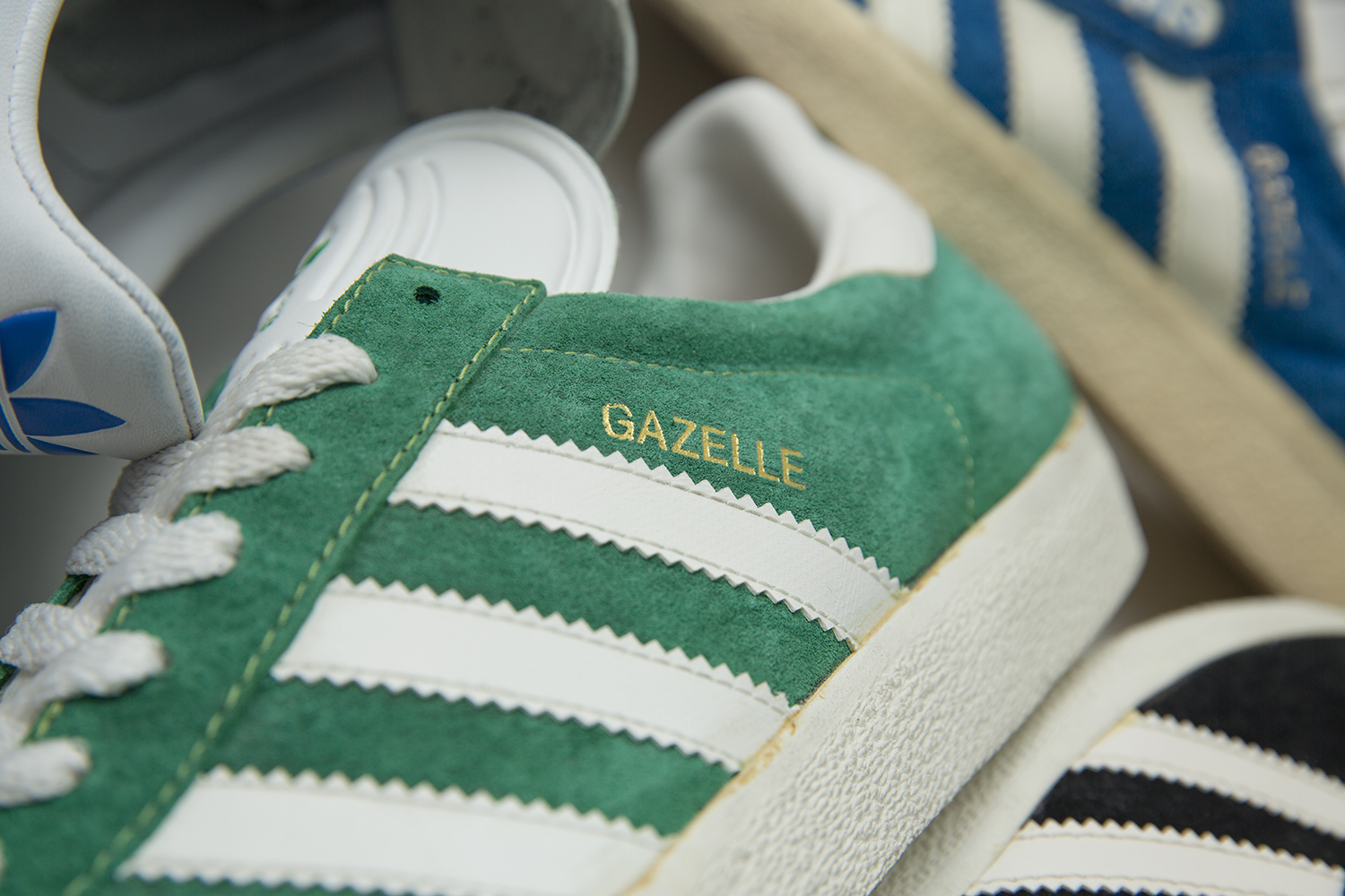 The size? HQ Lock-Up – adidas Originals Gazelle