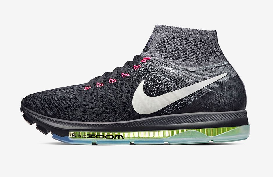 Flyknit Nike Zoom Shoes With Ankle Sock