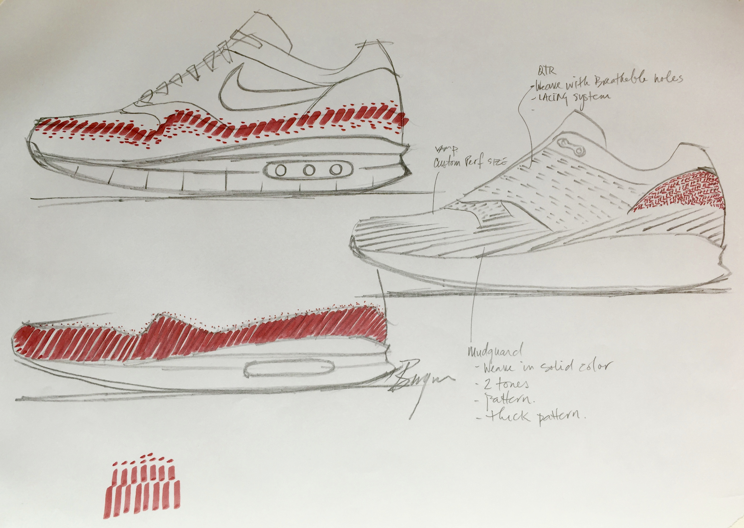 9dc72ef35098 Ben Yun AM1 Ultra Flyknit Sketches 60381
