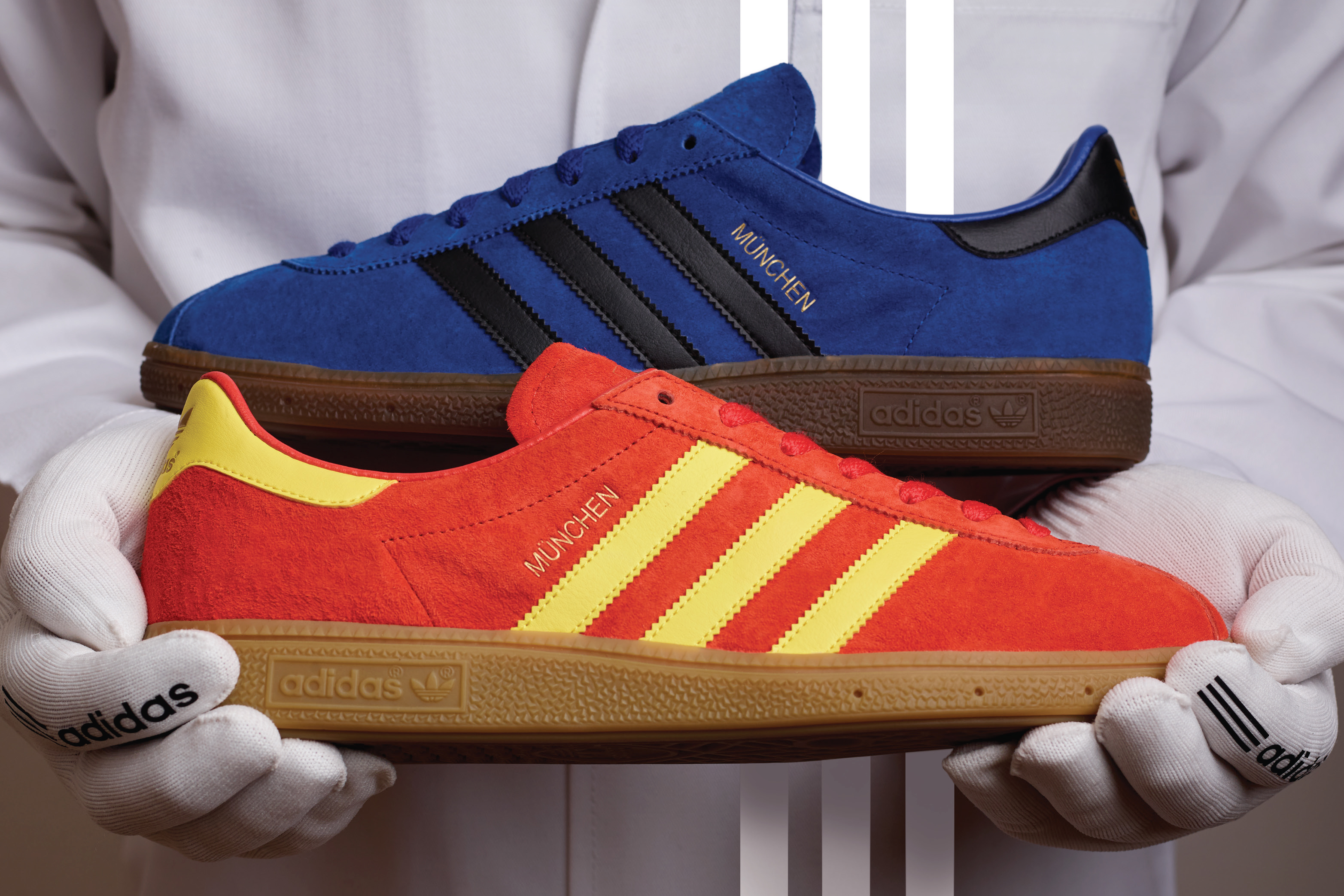 The München is a silhouette that seems to mean a lot to avid trainer  collectors 07aaccbbd8c3