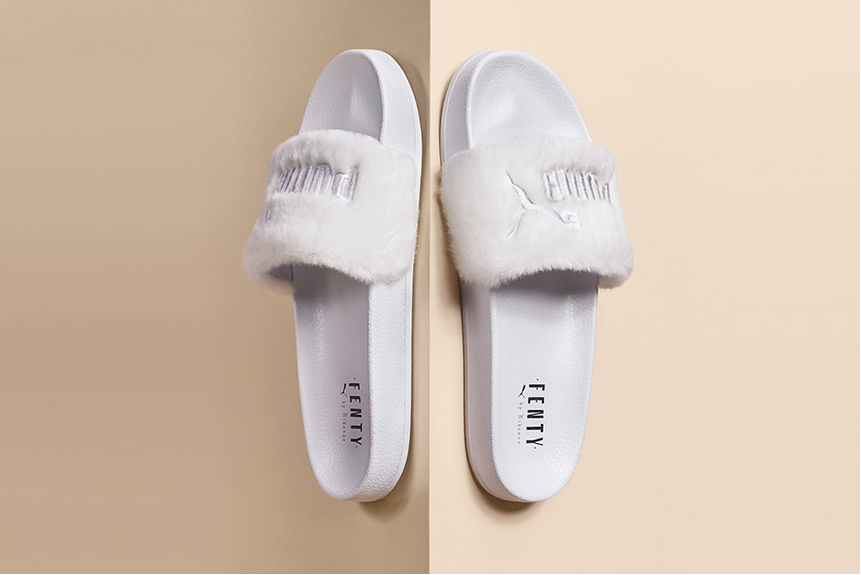 new product bea1e ed9fe Fenty PUMA by Rihanna Fur Slides - size? blog