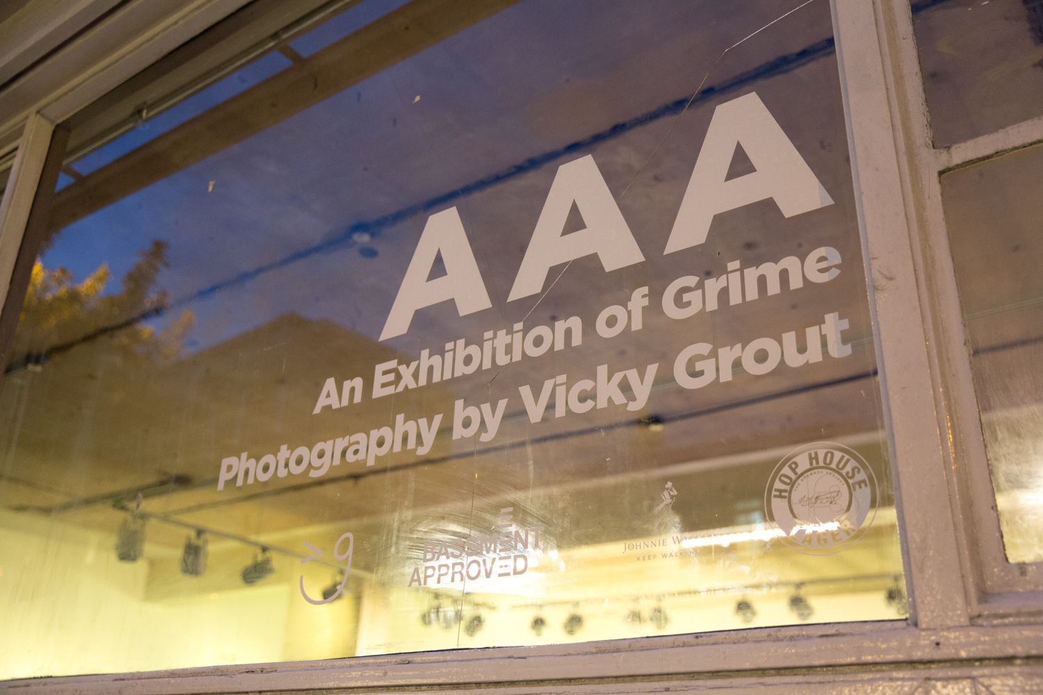 AAA – An Exhibition of Grime Photography by Vicky Grout