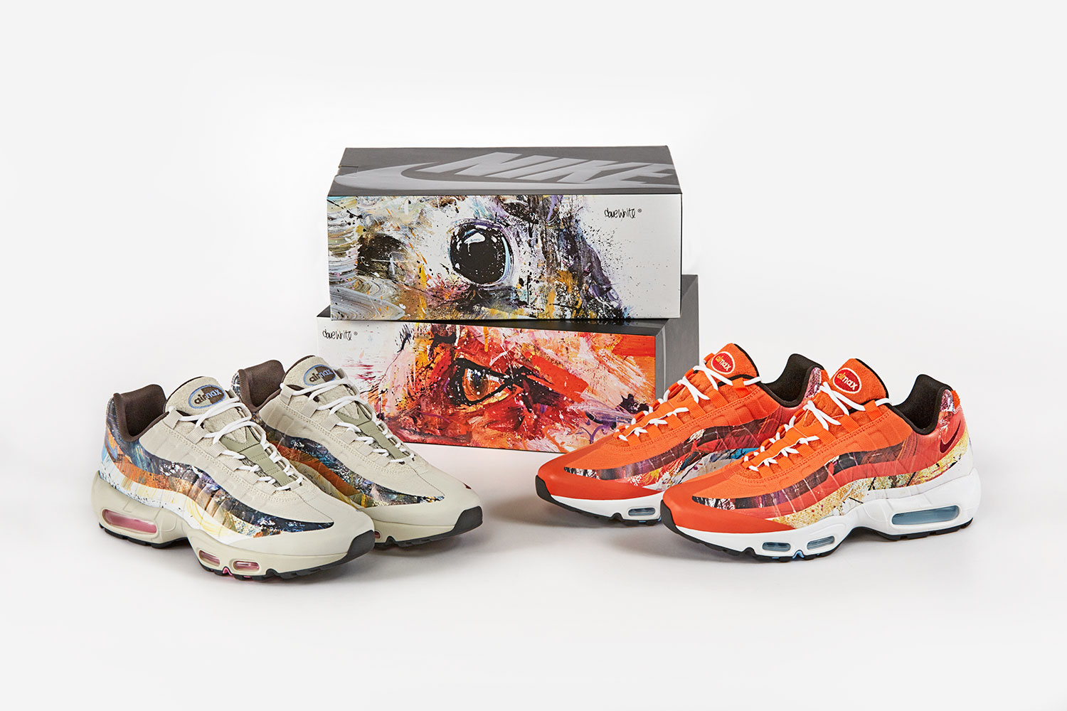 size? x Dave White x Nike Air Max 95 'Fox and Rabbit'