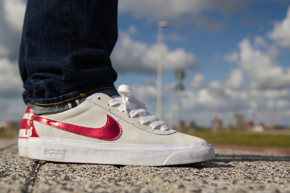 Back and Better  The NikeLab Bruin Leather - Nike News. nike BRUIN HASTA  WHITE ... 6651c9222