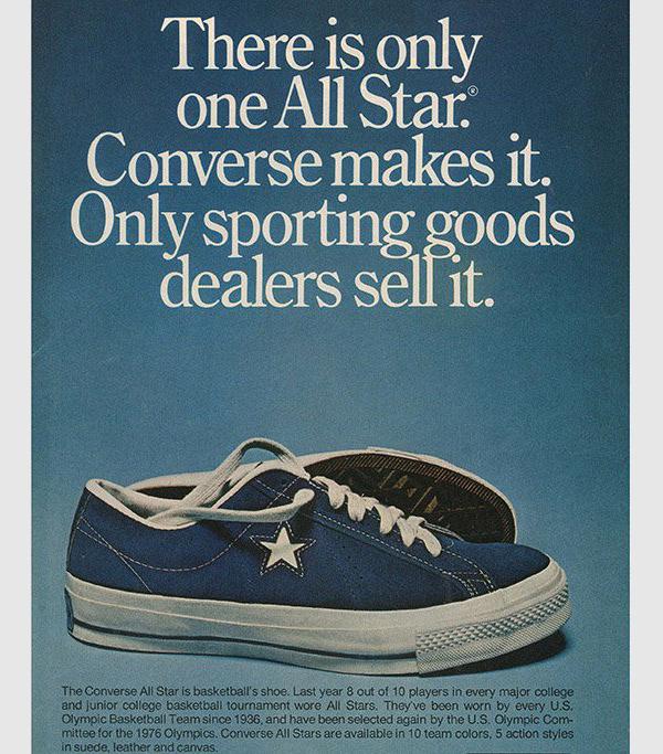 vintage converse one star